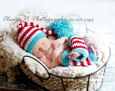 PDF CROCHET PATTERN - Stocking hat and leg warmers ADORABLE!!!