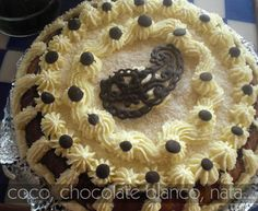 TARTA DE COCO Y CHOCOLATE BLANCO Chocolate Blanco, Coco, Pie, Desserts, Easy Recipes, Pies, Torte, Tailgate Desserts, Cake