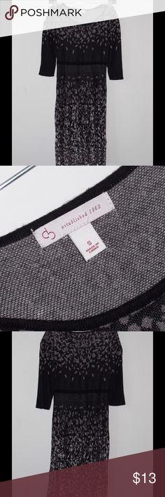 Sweater Dress DB established 1962 fitted sweater dress. Fits small / tight. Dresses Midi
