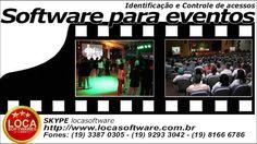 Programa para eventos e festas com controle de acesso