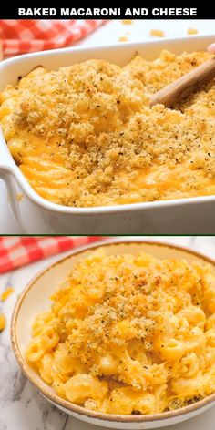 This authentic, southern baked mac and cheese been one of my all time favorite recipes. Nothing beats the crunch of the breaded topping blended perfectly with the creamy goodness of this recipe. Mc N Cheese, Taco Mac And Cheese, Mac And Cheese Casserole, Boxed Mac And Cheese, Baked Cheese, Best Mac N Cheese Recipe, Homemade Cheese Sauce, Mac Cheese Recipes, Easy Cheesy Mac And Cheese Recipe