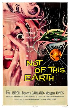 Not of this Earth (Allied Artists, 1957) One Sheet by Aeron Alfrey, via Flickr
