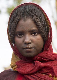 Afar Tribe Girl, Assayta, Ethiopia | Flickr - Photo Sharing!