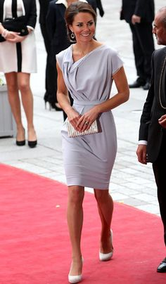Kate Middleton. Not that I never need to wear an outfit like this, but isn't it pretty =]