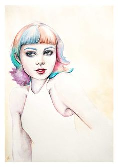 Watercolor Illustration by Alicia Nilsson @alicianilssoncreates