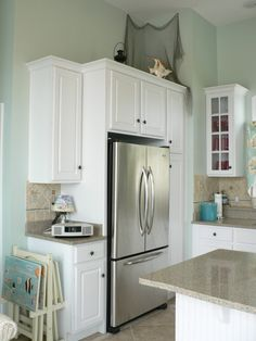 Galley Kitchen Remodel For Small Space Fridge Gallery