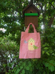 Kindertasche Vögelchen  Namen von Schnickel und Schnackel auf DaWanda.com