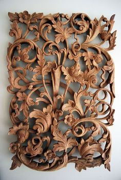 If You Need Quick Tips Regarding Woodworking, This Information Is It Wood Carving Designs, Wood Carving Art, Wood Sculpture, Sculptures, Wood Dresser, Wooden Art, Wood Design, Wood Paneling, Wood Crafts