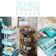 It's time again to check out some Knock-Offs!!! Today the spotlight is going to be shining on IKEA Hacks…and this time the star is the Raskog! I have to tell you that this little rolling wonder has so many uses it is incredible! A little versatile piece that costs $29.99 wears so many hats and …