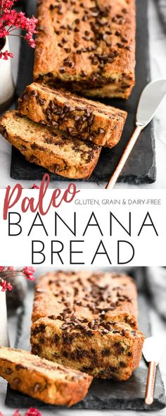 Hands down, this is the best Paleo Banana Bread recipe you will ever try! It's easy to make, super healthy and crazy delicious! #glutenfree #grainfree #dairyfree #refinedsugarfree #paleo #bananabread #breakfast #snack #healthyrecipe #recipevideo