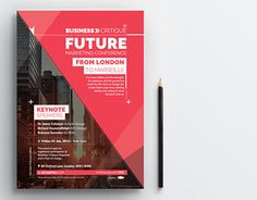 """Check out new work on my @Behance portfolio: """"Marketing Conference Poster"""" http://on.be.net/1LDtU5u"""
