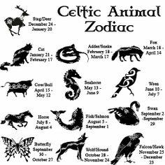 Celtic Animal Zodiac