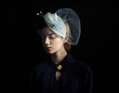 girl with a hat by zeyang Wang