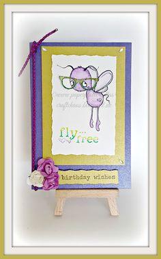 PaperPlotterLottas - CraftChaos: Birthday wishes - Karte