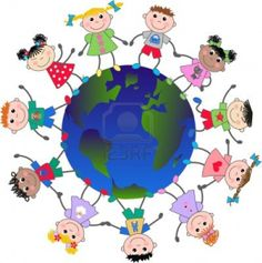 Multi cultural children loving you, Sweetie Pie, including Jews, Christians, & Muslims!!!