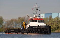 5 mei 2016 op het Noordzeekanaal t.h.v. Velsen Zuid   SEA BRAVO   http://koopvaardij.blogspot.nl/2016/05/thuishaven-vlissingen.html
