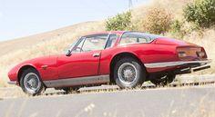 1966 Maserati 3500 GT design Moretti, shades of Grifo