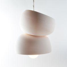 Image of porcelain bisque light