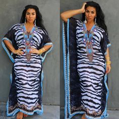 """BEIRUT kaftan from @asakaftans is a statement piece. The statement is ""I'm gorgeous!"" :) 20% off of everything with promo code ""GODDESS"" now:…"""