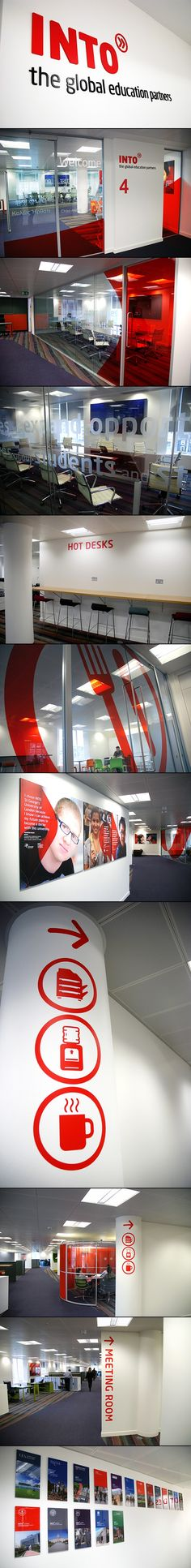 INTO Head Office branding and signage | by Richard Wise - created via http://pinthemall.net