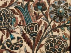 Fabulous William De Morgan Tile by amandabhslater, via Flickr