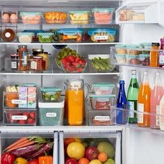 We've got all you need to get the fridge oh-so organized. Tidy up the fridge a. - We've got all you need to get the fridge oh-so organized. Tidy up the fridge and keep groceries o - Freezer Organization, Refrigerator Organization, Kitchen Organization Pantry, Home Organisation, Organized Fridge, Kitchen Refrigerator, Organization Ideas, How To Organize Fridge, Organised Home