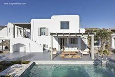 Villa blanca en Grecia para turistas