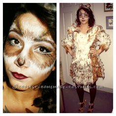 Original DIY Owl Costume and Makeup... This website is the Pinterest of costumes