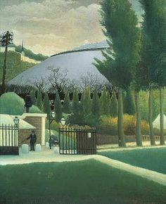 西洋絵画にはボールパークが良く馴染む