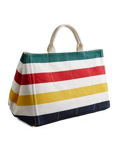 HUDSON'S BAY COMPANY Luxury Canvas Tote Bag