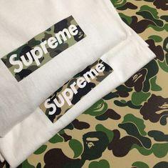 Supreme X Bape