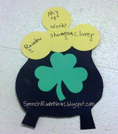 St. Patrick's Day Craft -  Pinned by @PediaStaff – Please Visit http://ht.ly/63sNt for all our pediatric therapy pins