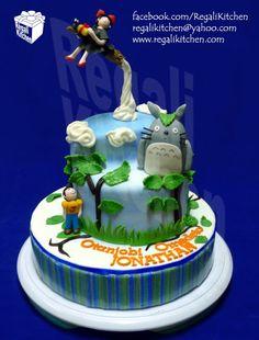 Ghibli Cake | Anime | Cakes by The Regali Kitchen