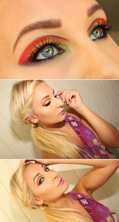 Dagens makeup – Futuristic | Helen Torsgården - Hiilens sminkblogg