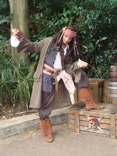 Oct. 2009 Disneyland Paris Jack Sparrow