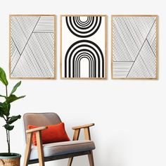 Hallway Wall Decor, Home Decor Wall Art, Minimalist Home Decor, Minimalist Art, Wallpaper Accent Wall Bathroom, Letter Wall Art, Inspirational Wall Art, Living Room Art, Hallways