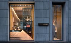 Santoni flagship boutique by Patricia Urquiola, Milan