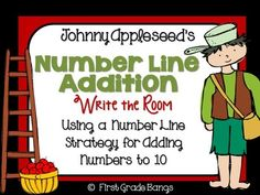 We know our students need practice using different addition strategies. This product provides simple, effective practice using a number line to ad. First Grade Lessons, Teaching First Grade, 1st Grade Math, Math Lessons, Math Addition, Addition And Subtraction, Addition Strategies, Common Core Ela, Writing Activities