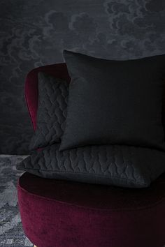 Lennol | BELINDA cushion, black