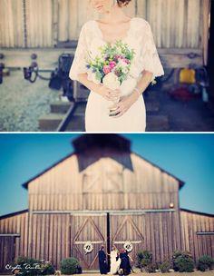 vestido+novia+escote+V+y+mangas+encaje