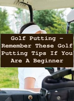 Golf Putting Techniques - How to Sink More Putts. To me, putting is a bit more of an feel and touch, instead of technique. When you get over your ball... Golf Putting Green, Backyard Putting Green, Golf Putting Tips, Putt Putt, Get Over It, Sink, Touch, Feelings, Sink Tops