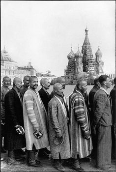 Waiting to visit the Lenin Mausoleum. Thirty-three years after this photo was…