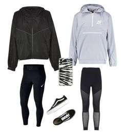 """Windbreakers"" by lizakappil on Polyvore featuring Ivy Park, adidas, NIKE, Vans and Recover"