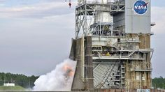 The Mighty Saturn Rocket Breaths Fire Again - a lot of Utahn's were laid off when Ares was scrapped...