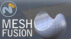 Meshfusion para Modo es la herramienta definitiva para booleanos e impresión 3D.