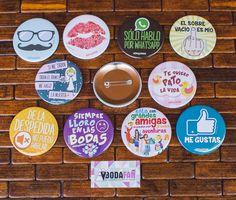 Chapas originales de bodas, personalizadas. www.bodafan.com