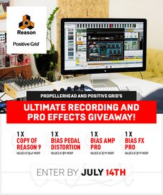 Share and get a bonus entry for this sweet Focusrite iTrack One Pre!