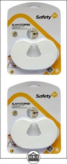 Safety 1st 39008720 - Tope de seguridad para puertas, color blanco  ✿ Seguridad para tu bebé - (Protege a tus hijos) ✿ ▬► Ver oferta: http://comprar.io/goto/B0012PJE5E