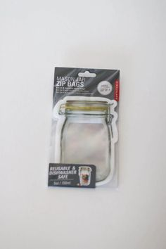 4 reuseable zipper bags durable leak-prood design reuseable & eco-friendly dishwasher & freezer safe stand-up design for easy-snaking BPA, PVC, Latex & Phthalates free Restaurant Coupons, Zipper Bags, Small Bags, Stand Up, Sale Items, Freezer, Latex, Dishwasher, Mason Jars