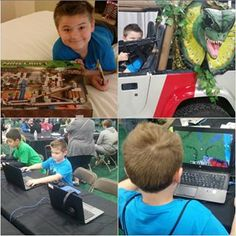 sheriegaw Thank you @minefaire this kid had so much fun and we learned alot!! Well worth the 5hr drive from Boston #minefaire #minecraft #pcgaming #education #happiestkid #learningtogether #miner #thinkoutsidethebox #dantdm #youtubers